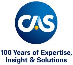 CAS Centennial Logo